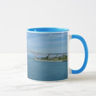 Blue Water Bridge, Port Huron, MI Sarnia, On Mug