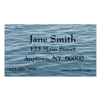Blue Water Business Card