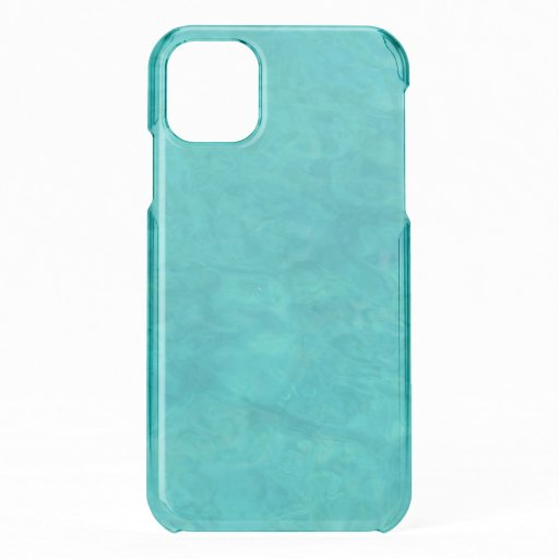 Blue Water Color iPhone 11 Case
