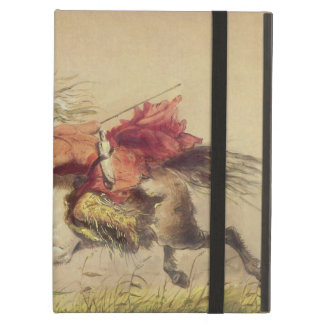 Blue Water Creek Battle By Alfred Jacob Miller iPad Air Case