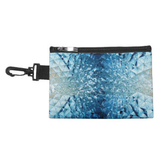 Blue Water Crystals Accessories Bags