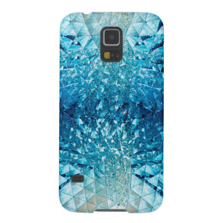Blue Water Crystals Case For Galaxy S5