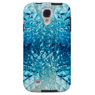 Blue Water Crystals Galaxy S4 Case