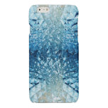 Blue Water Crystals Glossy iPhone 6 Case