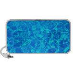Blue water Doodle Travelling Speaker