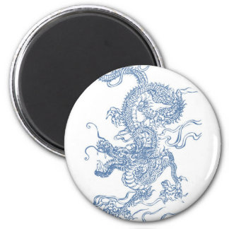 Blue Water Dragon 2012 Magnet