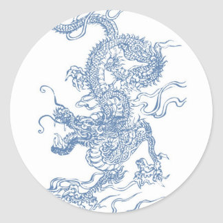 Blue Water Dragon 2012 Stickers