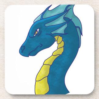 Blue Water Dragon Drink Coaster