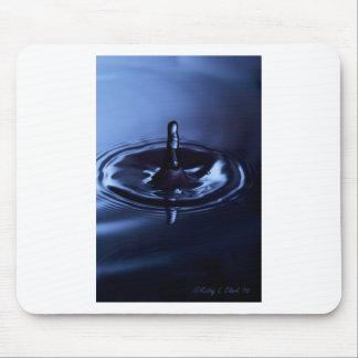 Blue Water Drop Suspension Mousepad