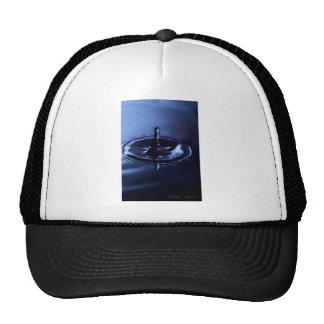 Blue Water Drop Suspension Trucker Hat