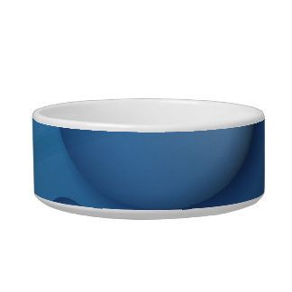 Blue Water Drop Texture Bowl