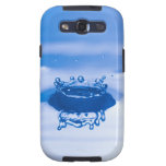 Blue Water Droplet (3) Galaxy S3 Cases