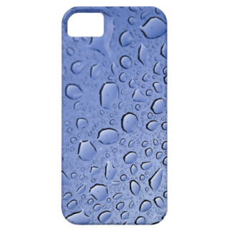 Blue Water Droplets iPhone 5 Cover