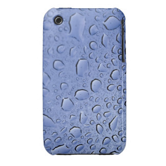 Blue Water Droplets iPhone 3 Covers