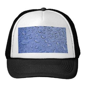 Blue Water Droplets Trucker Hat