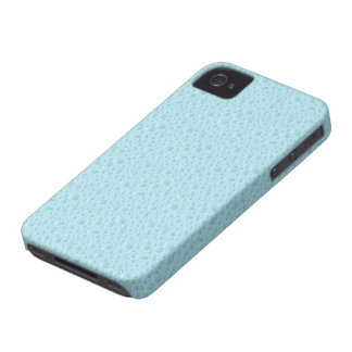 Blue Water Drops abstract pattern iphone case