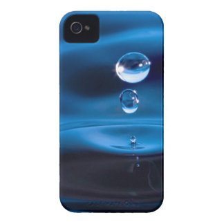Blue Water Drops Case-Mate iPhone 4 Case