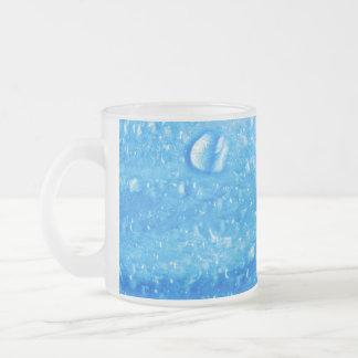 Blue Water Drops Mug