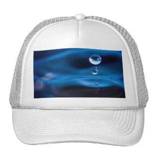 Blue Water Drops Trucker Hat