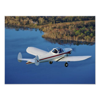 Blue Water Ercoupe Print