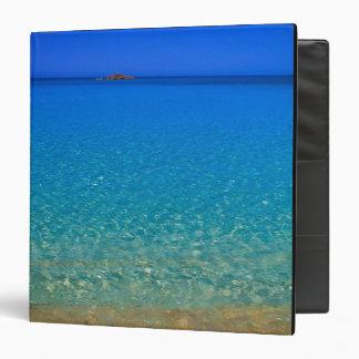 Blue water, Exuma Islands, Bahamas. Binder