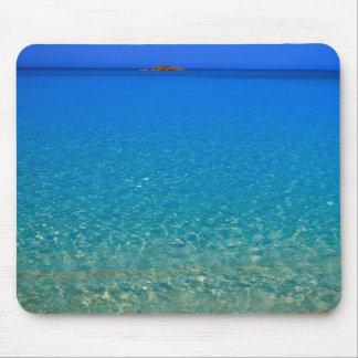 Blue water, Exuma Islands, Bahamas. Mouse Pad