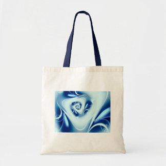 Blue Water Fine Fractal Art Tote Bag
