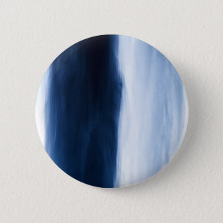 Blue Water Flowing Abstract Pinback Button