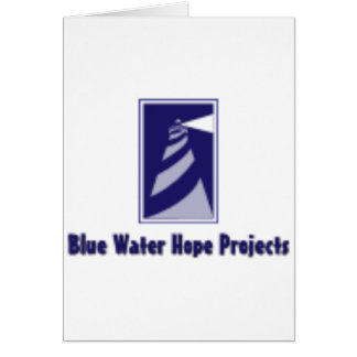 Blue Water Hope Projects Card