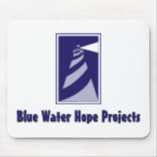 Blue Water Hope Projects Mouse Pad