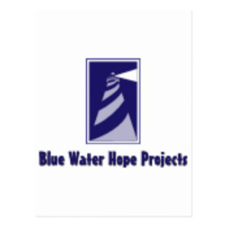 Blue Water Hope Projects Postcard