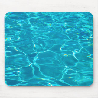Blue Water in Pool Mouse Pad