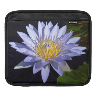 Blue Water Lily iPad Sleeve