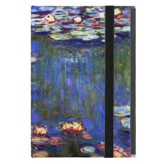 Blue Water Lily Pond iPad Mini Case
