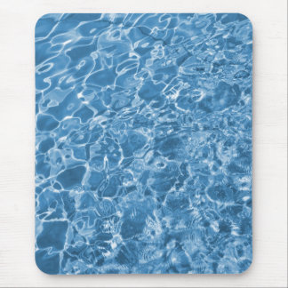 blue water mouse pad