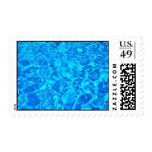 Blue water Postage