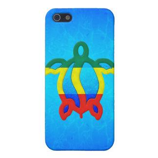 Blue Water Rasta Honu Case For iPhone SE/5/5s