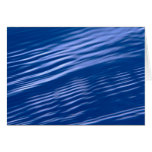 Blue Water Ripple Card