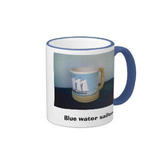 Blue water sailor Mug