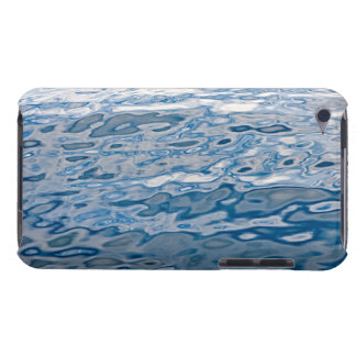 Blue water surface barely there iPod case