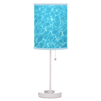 Blue Water Table Lamp
