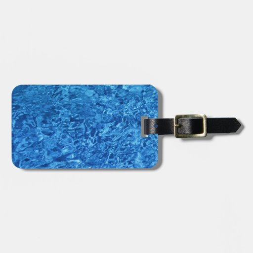 Blue Water Tag For Luggage
