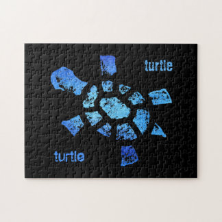 Blue Water Turtle 10x14 Jigsaw Puzzle