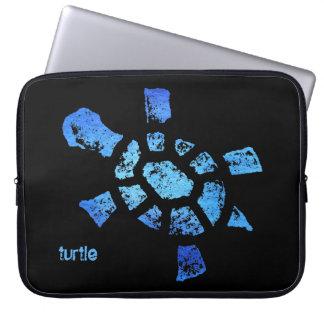 """Blue Water Turtle 15"""" Laptop Sleeves"""