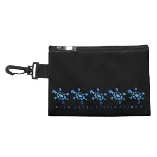 Blue Water Turtles Accessory Bag