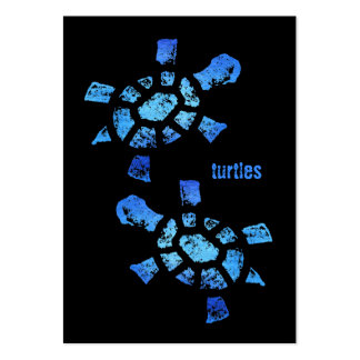 Blue Water Turtles Business Card Templates
