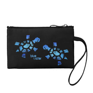 Blue Water Turtles Coin Purse