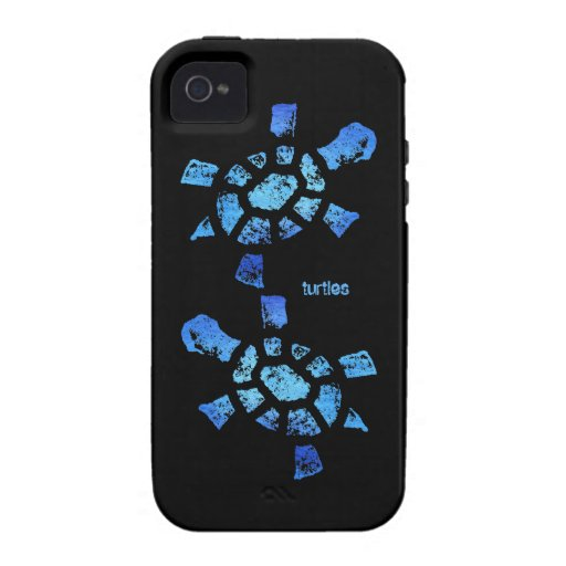 Blue Water Turtles Vibe Vibe iPhone 4 Cover
