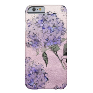 Blue Watercolor Hydrangea iPhone 6 case