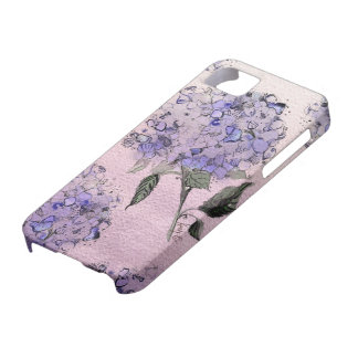 Blue Watercolor Hydrangea iPhone Case iPhone 5 Covers